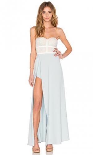 Платье isabella Elle Zeitoune. Цвет: нежно-голубой