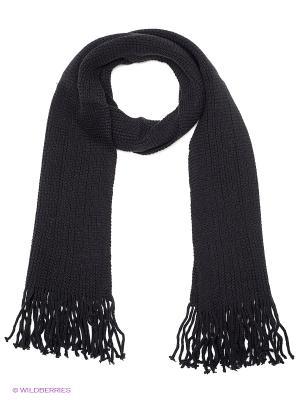 Шарф FOMAS. Цвет: черный, антрацитовый, темно-серый