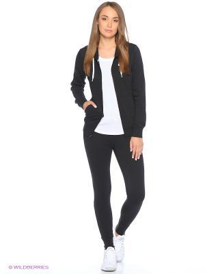 Спортивный костюм W NSW TRK SUIT FLC Nike. Цвет: черный, белый