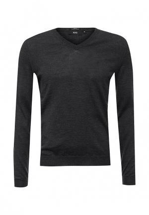 Пуловер Boss. Цвет: серый