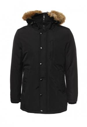 Куртка утепленная Mastice. Цвет: черный