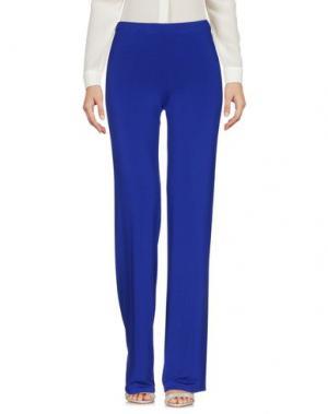 Повседневные брюки 1-ONE. Цвет: синий