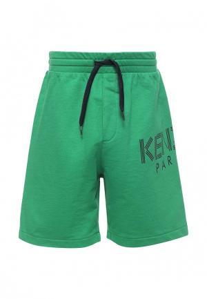 Шорты спортивные Kenzo. Цвет: зеленый