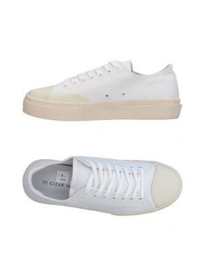 Низкие кеды и кроссовки CLEAR WEATHER. Цвет: белый