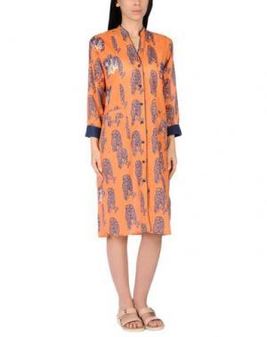 Пляжное платье OPALINE. Цвет: оранжевый