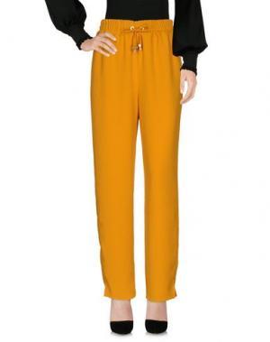 Повседневные брюки AMERICAN VINTAGE. Цвет: охра