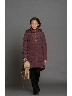 Пальто Stillini. Цвет: бордовый