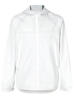 Hooded wind breaker Adidas Originals. Цвет: белый