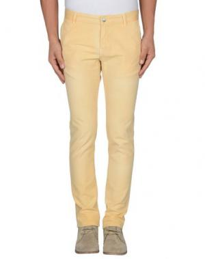 Повседневные брюки AT.P.CO. Цвет: светло-желтый