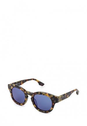 Очки солнцезащитные McQ Alexander McQueen. Цвет: разноцветный