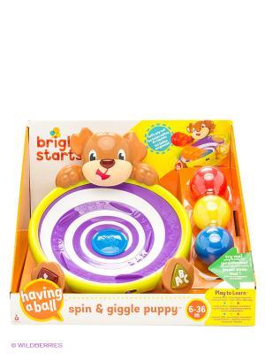 Развивающая игрушка Игривый щенок BRIGHT STARTS. Цвет: коричневый
