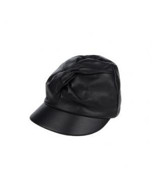 Головной убор SUPER DUPER HATS. Цвет: черный