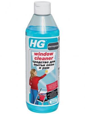 Средство для мытья окон и рам 0,5л HG 297050161. Цвет: белый