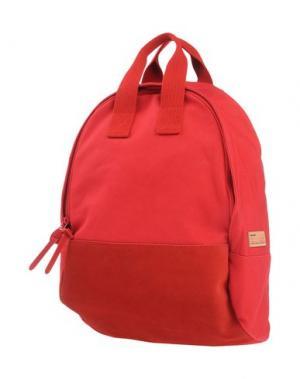 Рюкзаки и сумки на пояс BUDDY. Цвет: красный