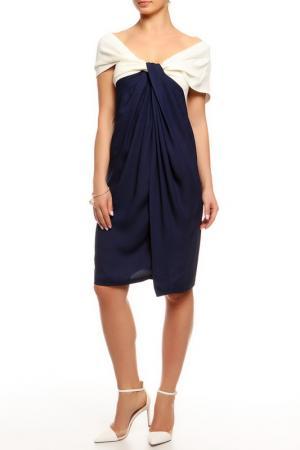 Платье Donna Karan. Цвет: синий