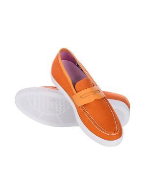 Мокасины MONDIGO. Цвет: оранжевый