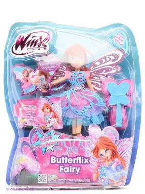Кукла Winx Club Баттерфликс Блум. Цвет: голубой