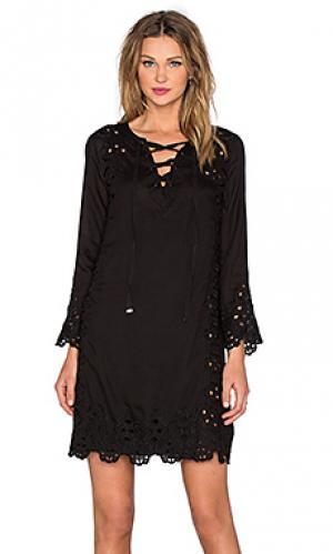 Платье charlie Love Sam. Цвет: черный