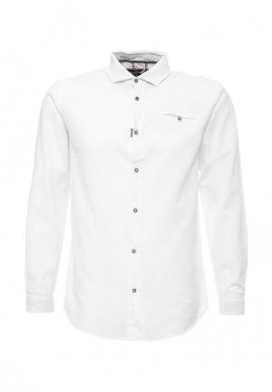 Рубашка E-Bound. Цвет: белый