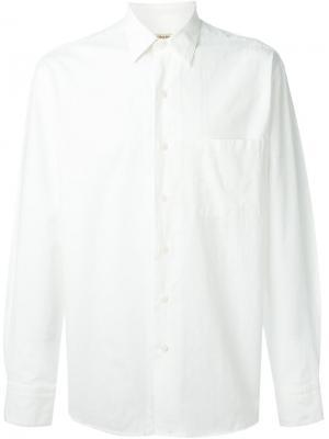 Рубашка с нагрудным карманом Al Duca D'Aosta 1902. Цвет: белый