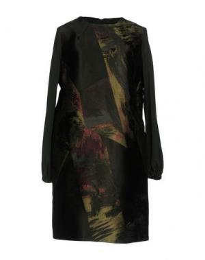 Короткое платье MALAICA. Цвет: зеленый-милитари