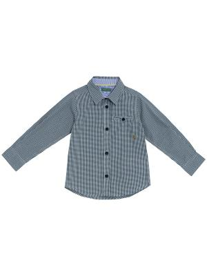 Рубашка CHICCO. Цвет: серо-зеленый