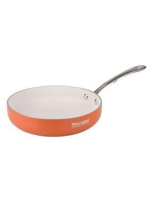 Сковорода Rondell RDA-536. Цвет: терракотовый