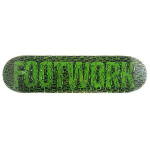 Дека для скейтборда  Original Zombie 31.6 x 8 (20.3 см) Footwork. Цвет: черный,зеленый