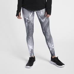 Женские тайтсы с принтом  Power Nike. Цвет: белый