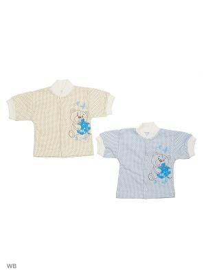 Кофты 2штуки. Babycollection. Цвет: голубой, молочный