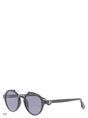 Солнцезащитные очки KT 504S 09 Kiton. Цвет: черный, золотистый