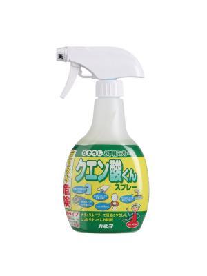 Спрей чистящий универсальный KANEYO с лимонной кислотой 400 мл. Цвет: белый