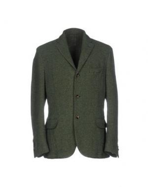 Пиджак MONTEDORO. Цвет: темно-зеленый