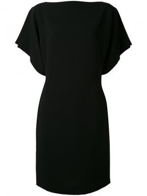 Платье с разрезами на рукавах Gareth Pugh. Цвет: чёрный