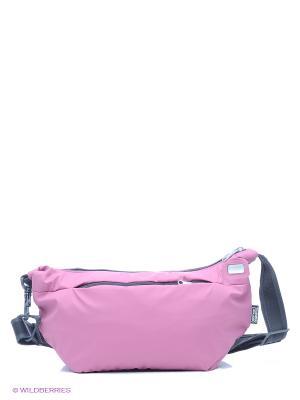 Сумка Pacsafe. Цвет: розовый