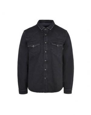 Джинсовая рубашка 8. Цвет: черный