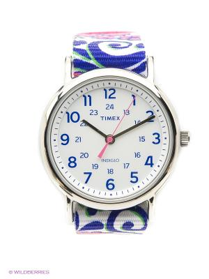 Часы TIMEX. Цвет: фиолетовый