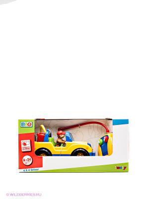 Мини-джип на радиоуправлении Smoby. Цвет: желтый, синий, зеленый