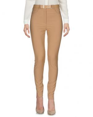 Повседневные брюки ELISABETTA FRANCHI. Цвет: верблюжий
