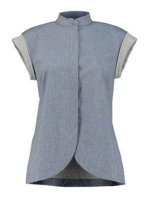 Блуза Peserico. Цвет: серо-голубой