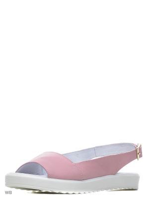 Сандалии Spur. Цвет: розовый