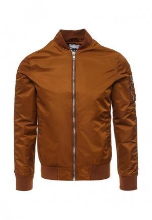 Куртка Chromosome. Цвет: коричневый