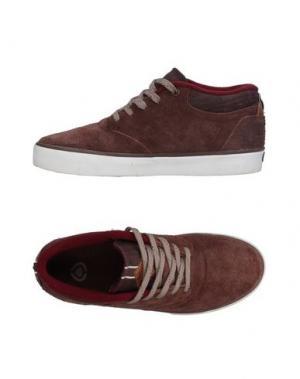 Низкие кеды и кроссовки C1RCA. Цвет: хаки