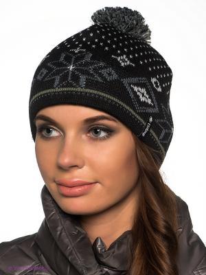Шапка Viking caps&gloves. Цвет: черный, серый