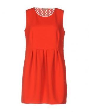 Короткое платье DV Roma. Цвет: красный
