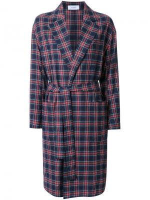 Пальто As Checked Astraet. Цвет: многоцветный