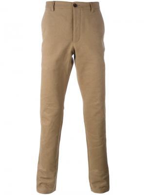 Классические брюки чинос Al Duca D'Aosta 1902. Цвет: телесный