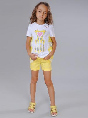 Блузка Fleur de Vie. Цвет: желтый