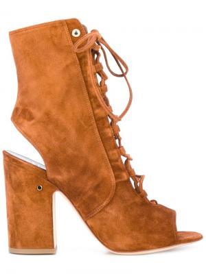 Ботинки Nelly Laurence Dacade. Цвет: коричневый