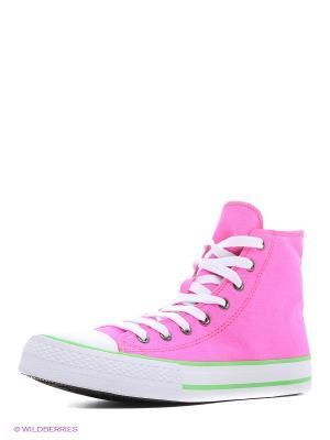 Кеды HCS. Цвет: розовый